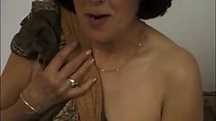 Short haired mature rough sex