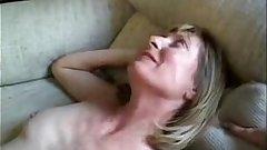 Blonde Milf Opens Ass For Husband