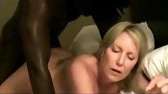 Blonde Milf Neighbor Works On BBC (comp)