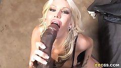 Busty MILF Michelle McLaren Fucks Big Black Cock