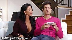 MommyBlowsBest Stripper MILF Sucks Gamer Step Son's Cock
