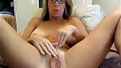 Step Mommy Spreading Pussy On Webcam