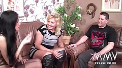 MMV FILMS Creampie for Mature German
