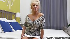 Euro gilf Koko strips off and exposes herself