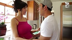 Mexican Lucky teen fucks his best friend`s mom Diana Prince!!!