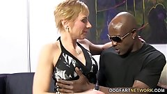Hot cougar Gemma Not far from Offers Anal Sex To Black Pauper