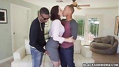 Interesting hot chick Chanel Preston love huge massive dick