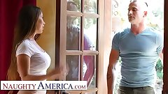 Naughty America - Bianca Suffocate teaches efficacious with the addition of fucking lessons