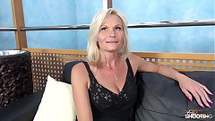 Fakeshooting - MILF Clarisa Strips & Fucks Be advisable for An Audition with Wendy Moon