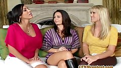 CFNm suitor Holly West fro an anal fourway