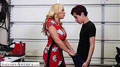 Poor America Tyler Faith fucks son's friend when hubby cheats