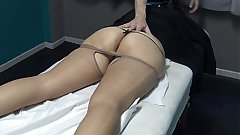 No Don't Fuck me i am Married ! Unique ID my Pussy even if you want but i have Period ! Brazilian Milf said to his Masseur and watch what happen ! (This is the Trial Video)