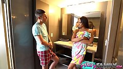 Cheating Mom Almost Caught Anent Step Son (Part 1) - Gia Vendetti -